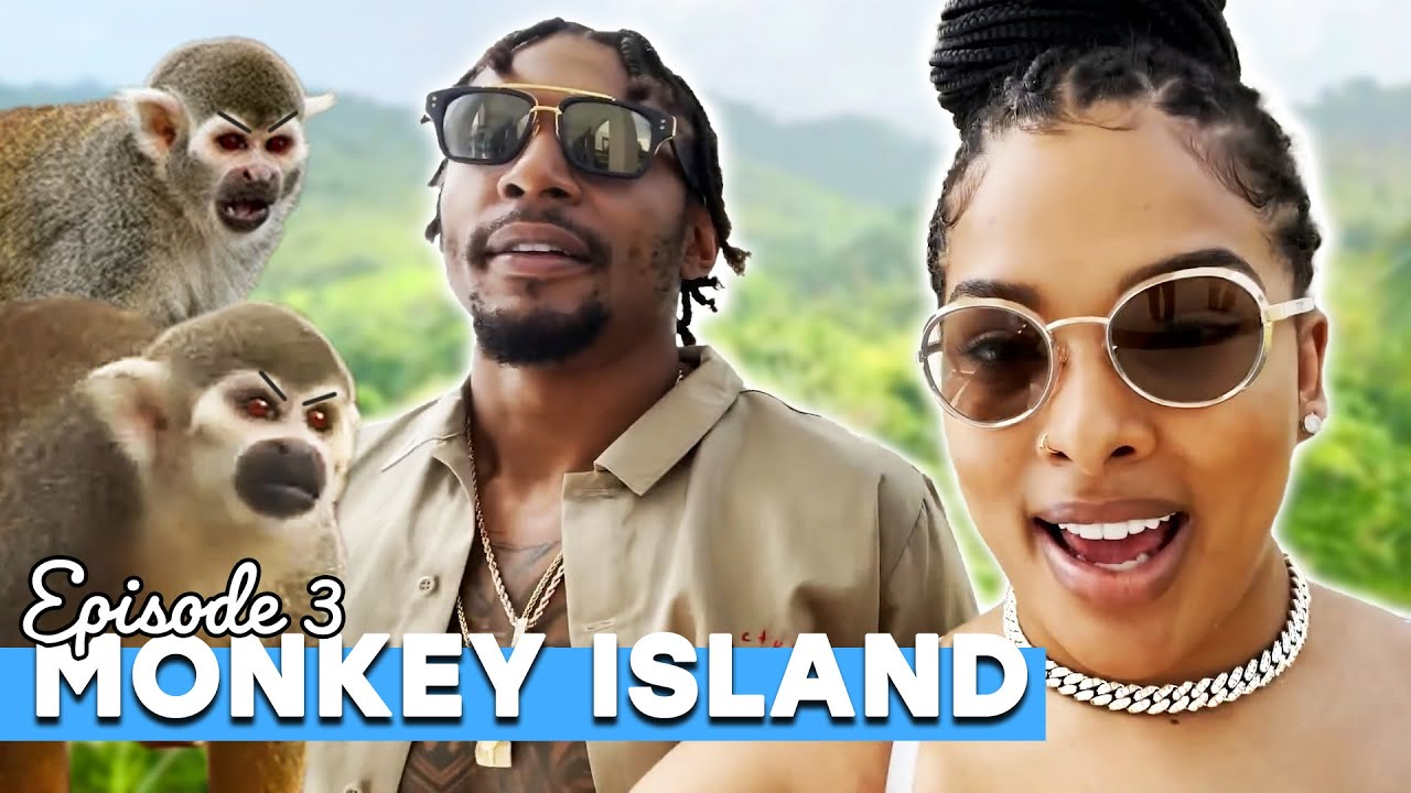 WE GOT ATTACKED BY MONKEYS! // Couples Vacation Ep. 3