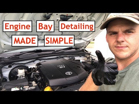 Engine Bay Detailing MADE SIMPLE