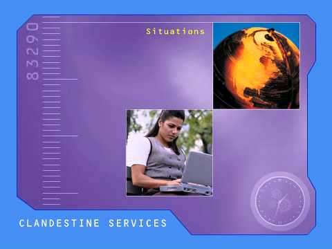 National Clandestine Service clandestine final