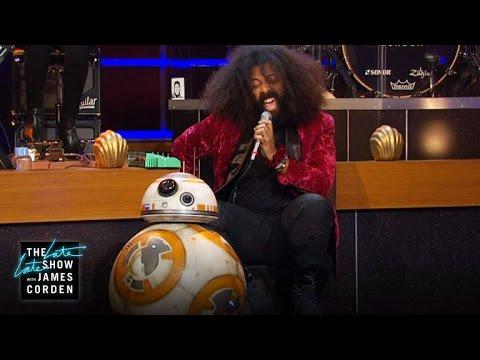 Reggie Watts Serenades BB-8