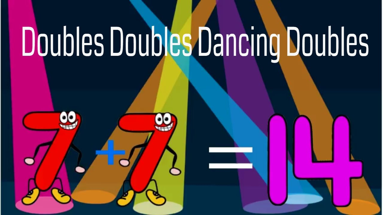 Your Kids Can Learn Math Facts With These Doubles Addition Songs Math Songs Teaching Doubles Facts Math Facts Adding doubles video song