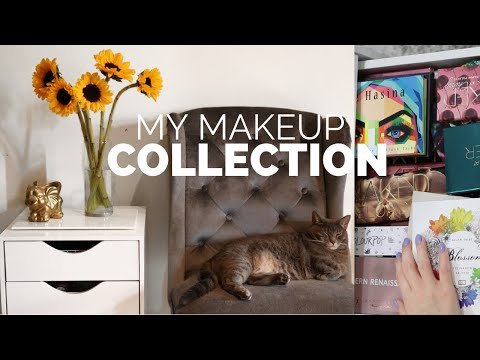 My Makeup Collection 2019// Organization & Storage! thumbnail