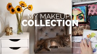 My Makeup Collection 2019// Organization & Storage!