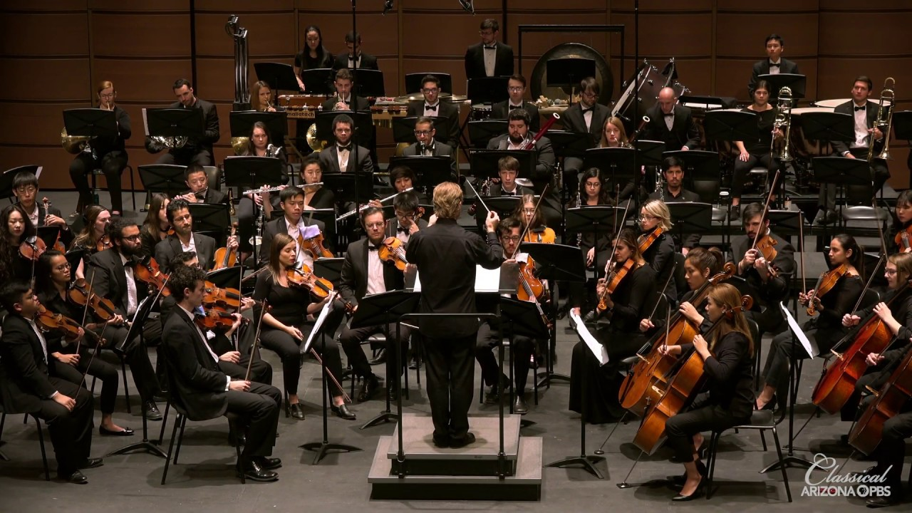 "Video Release of Jeffery Meyer and the ASU Symphony Orchestra Performing  ""Splintered Light"""