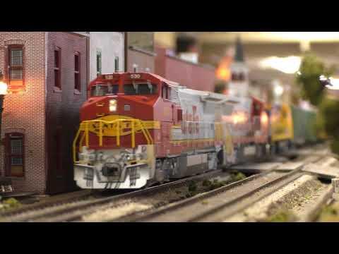 TCMRA 2017 Nebraska State Fair Model Train Display