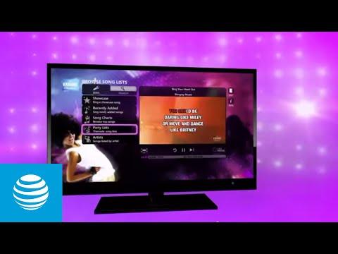 Karaoke TV App – AT&T U-verse | AT&T