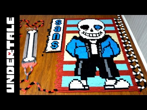 Thumbnail: Undertale Genocide Edition (IN 201,025 DOMINOES!)