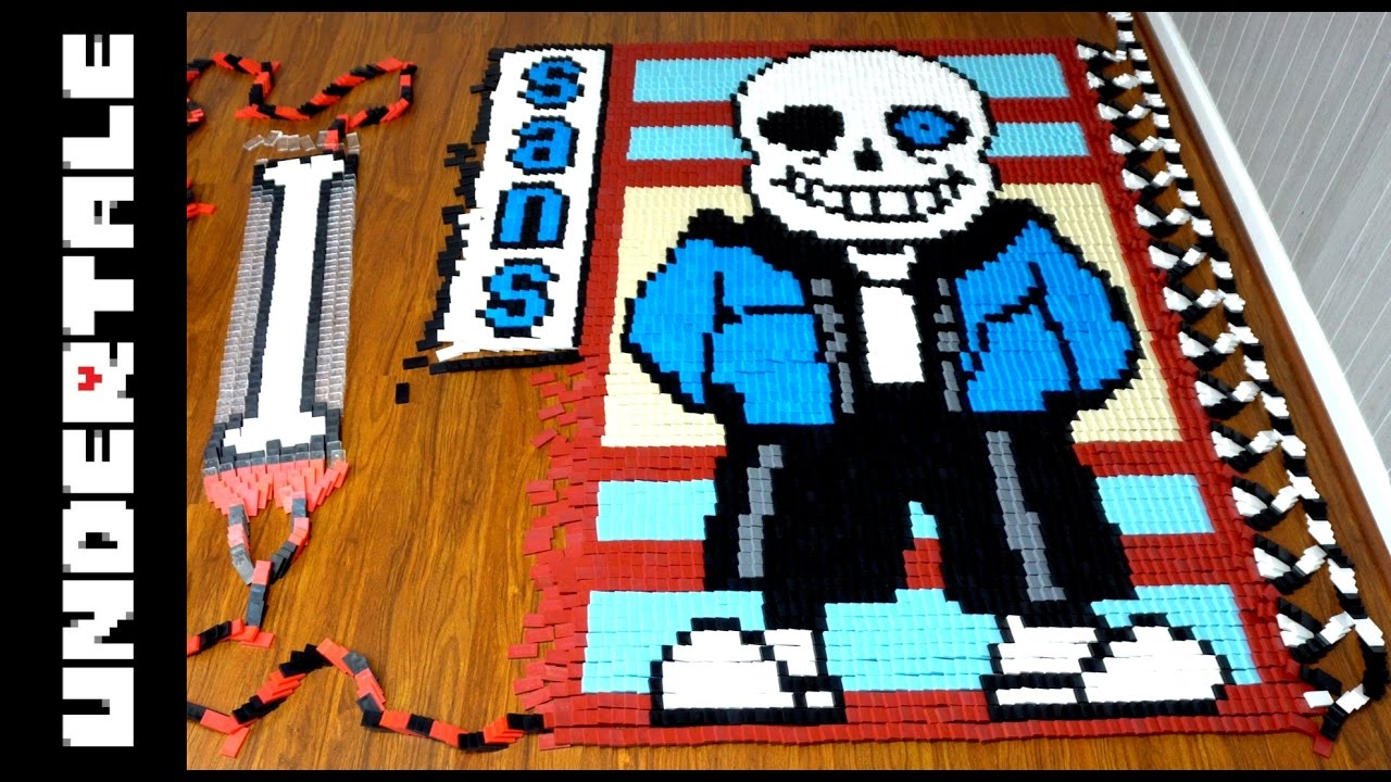 Undertale Genocide Edition (IN 201,025 DOMINOES!) - YouTube