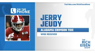 Alabama WR Jerry Jeudy Talks NFL Draft Prep & More with Rich Eisen | Full Interview | 4/1/20