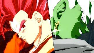 MERGED ZAMASU IN FIGHTERZ?! Super Saiyan God Gohan ARCADE Battle! | Dragon Ball FighterZ MODS