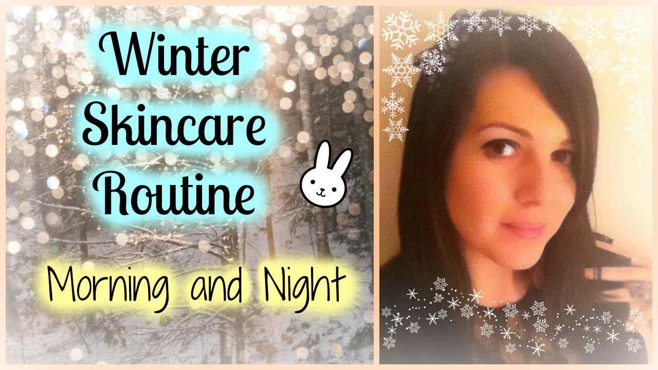 Winter skincare routine sensitive oily and rosacea youtube