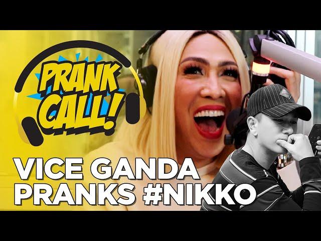 Vice Ganda, nakaganti na kay Hashtag Nikko! | PRANK CALL!