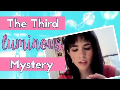 3. The Third Luminous Mystery - The Proclamation of the Kingdom of God