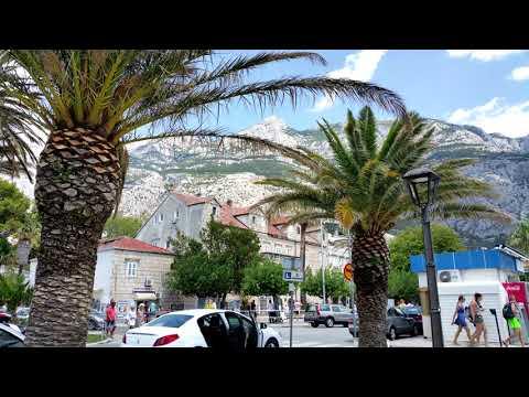 Makarska Chorwacja - Makarska Croatia   4K