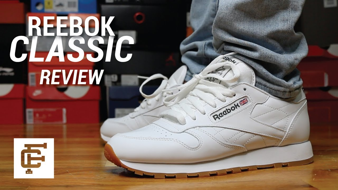 3d62e3ca6 REEBOK CLASSIC REVIEW  BETTER THAN YEEZYS  - YouTube