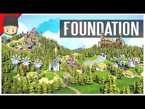 Foundation : Organic City-Building! (Kickstarter Trailer)
