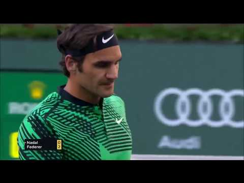 Roger Federer Indian Wells 2017 best points