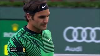 Roger Federer Indian Wells 2017 best points