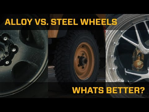 Alloy Vs. Steel Wheels? What's Better?