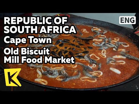【K】South Africa Travel-Cape Town[남아공 여행-케이프타운]토요일 음식 시장/Old Biscuit Mill Food Market/Souvenir/Crafts