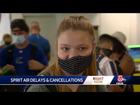 Spirit cancels hundreds