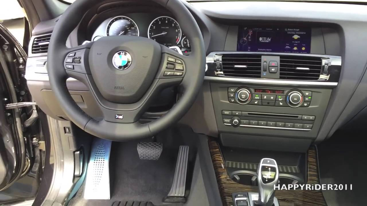 2014 bmw x3 xdrive35i full review, start up, exhaust - youtube