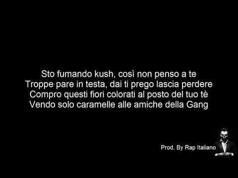 TESTO DARK POLO GANG  CARAMELLE Feat  Peachwalnut Prod  by Sick Luke