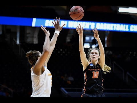 Highlights: Oregon State women's basketball knocks off Tennessee in Knoxville to reach Sweet 16