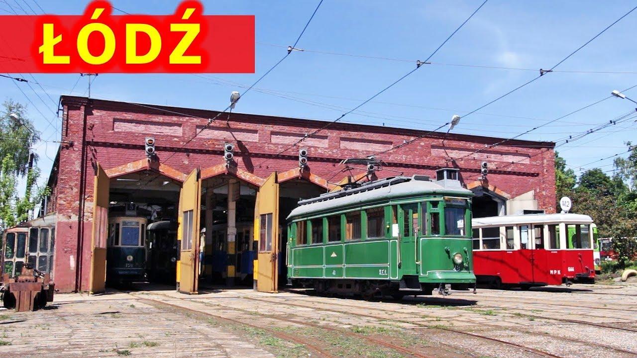 W 107-letniej zajezdni tramwajowej / In 107 years old tram depot in Lodz