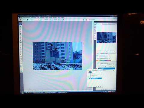 Делаем раскадровку Видеоурок  Фотошоп Adobe Photoshop CS3.wmv
