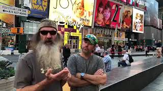 Phil Robertson LIVE in Times Square!