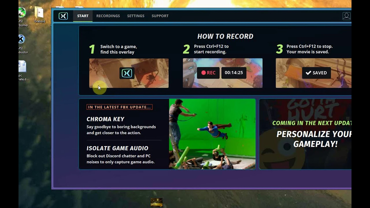 How To Record Gameplay on PC for FREE - THE BEST FREE Game Play Recorder