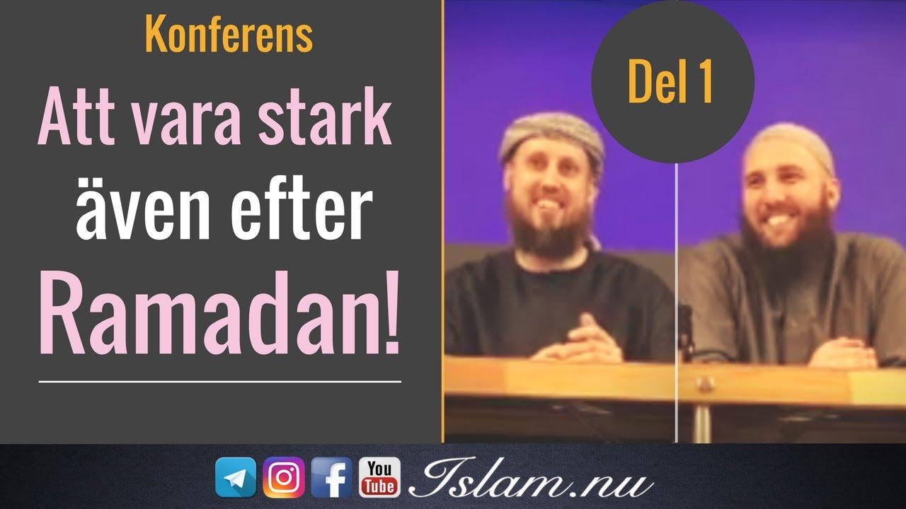 Att vara stark även efter Ramadan | Göteborg Konferens | Del 1 av 2