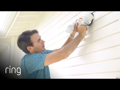 Installing Ring Floodlight Cam in 15 Minutes | Ring