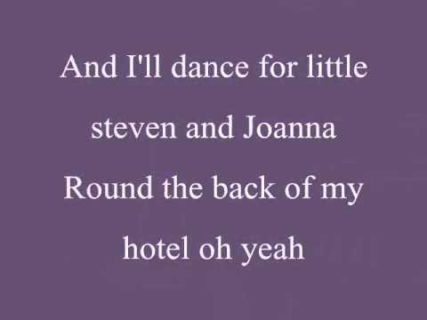 Chelsea Dagger By The Fratellis(Lyrics)