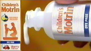 Children's Motrin Commercial, Nov 9 2004