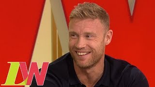 "Freddie Flintoff on Hosting Top Gear: ""I'll Try My Best"" 