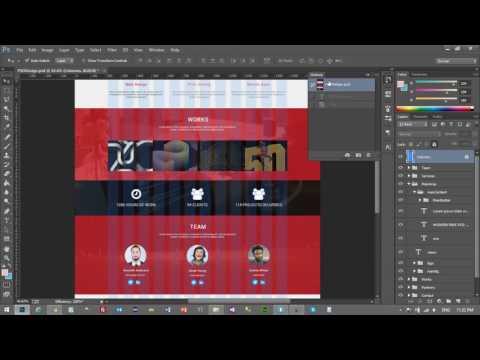 Yeni Başlayanlar İçin Web Sitesi Tasarımı - Photoshop, HTML5, CSS3, Bootstrap - Ders 12