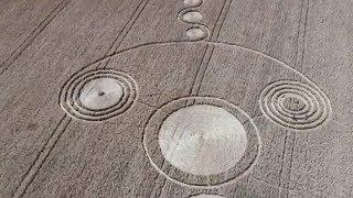 Круги на полях появились в Гулькевичском районе Кубани