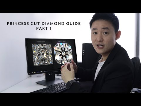 Ultimate Guide To Princess Cut And Other Squarish Shaped Diamonds (part 1)