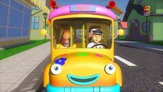 bánh xe trên xe buýt bài hát cho trẻ em bài hát xe buýt ở việt bé vần The Wheels On The Bus Song