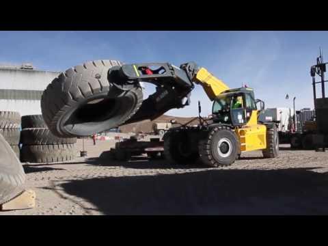 Применение телескопического погрузчика MAGNI в горнодобывающей промышленности