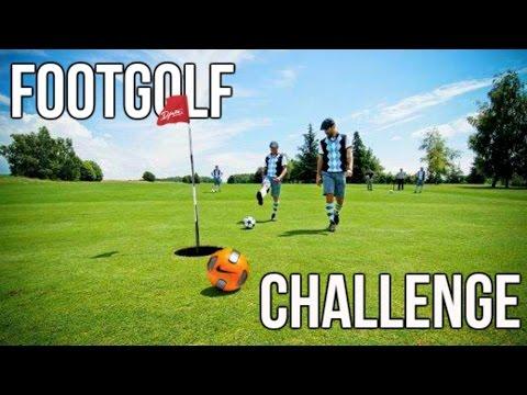 FOOTGOLF CHALLENGE! w/ Uros Lazarevic