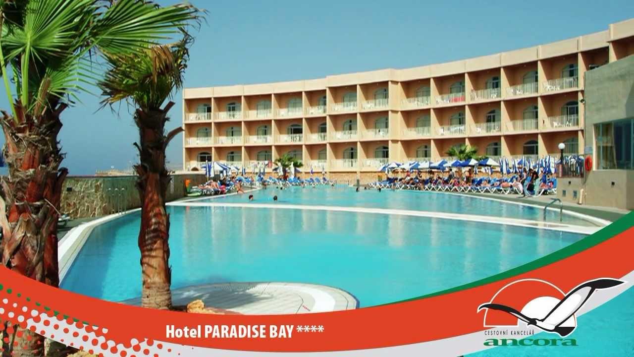 Hotel PARADISE BAY - CIRKEWWA - MALTA - YouTube