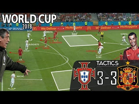 Portugal 3-3 Spain: Tactical Analysis - World Cup 2018 (In-depth)