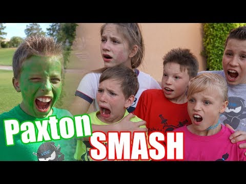 Paxton Smash! Team up with SuperHeroKids!