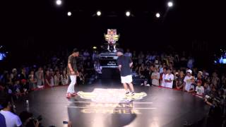 NORI vs ISSEI | Red Bull BC One Japan Cypher 2015 - SEMI FINAL