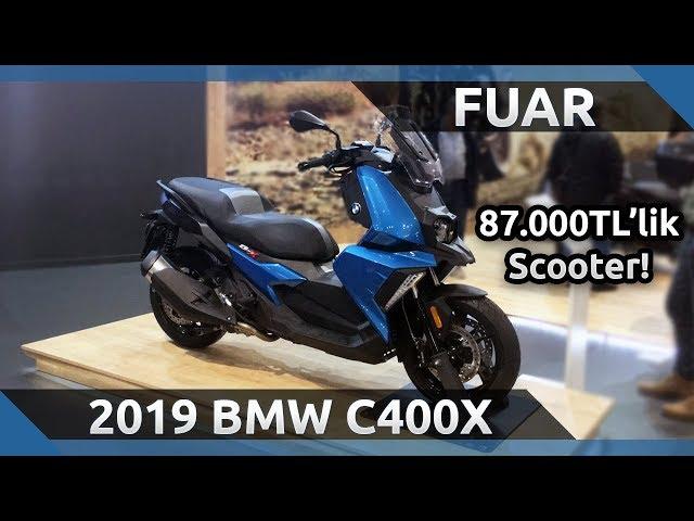 2019 BMW C400X Ön İnceleme - 2019 Motobike İstanbul Fuarı