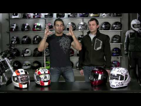 How to Fit a Motorcycle Helmet, Sizing Guide by RevZilla.com