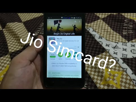How to get Jio 4G Sim card with any Android device - 3 months Unlimited Cellular Usage